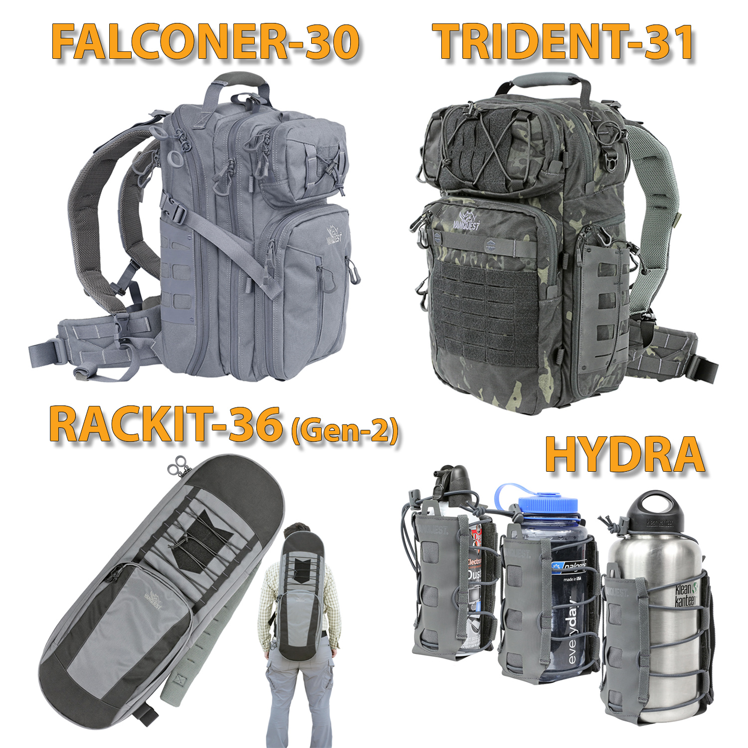VANQUEST has new bags for you!