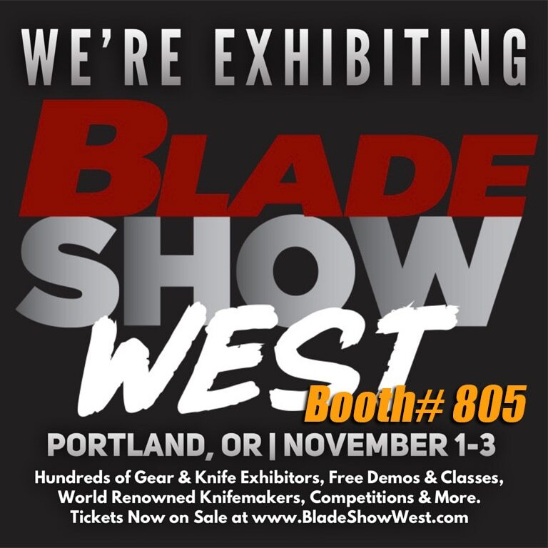 VANQUEST exhibiting at Blade Show West in Portland, Oregon — Booth# 805