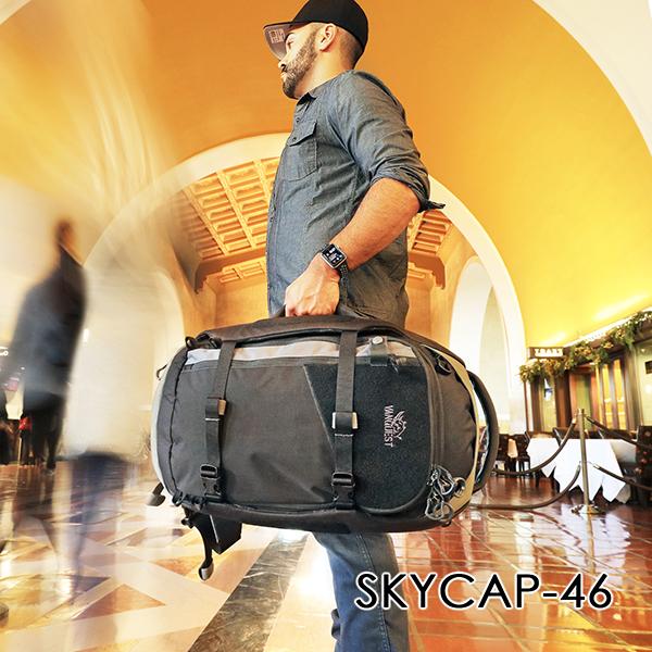 VANQUEST Announces SKYCAP-46 Travel Duffel has landed!